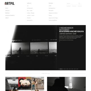 ARTPIL – Profiles of the Arts