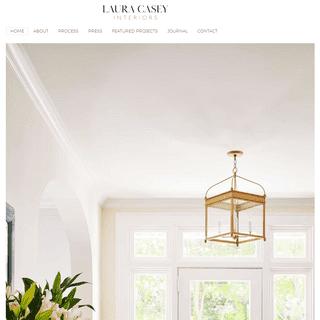 Interior Designer Charlotte, NC - Laura Casey Interiors