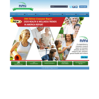 NMI - Unparalleled Global Expertise in Health, Wellness and Sustainability