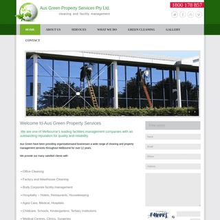 Aus Green Property Services Pty Ltd.