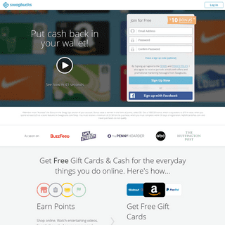 Swagbucks- Coupons, Paid Online Surveys & Free Gift Cards