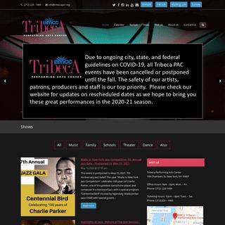ArchiveBay.com - tribecapac.org - Tribeca – Performing Arts Center