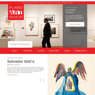 ArchiveBay.com - plainsart.org - Plains Art Museum