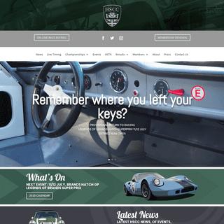 Historic Sports Car Club - Pure Historic Racing since 1966