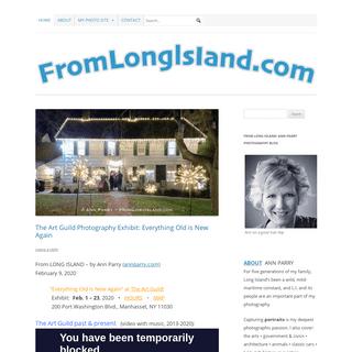 FromLongIsland.com - ann parry photography blog- FROM LONG ISLAND