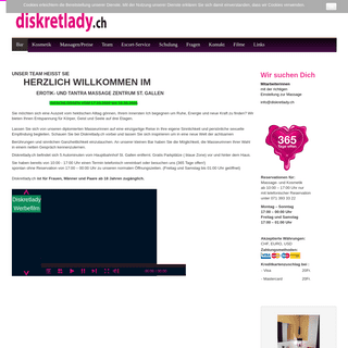 A complete backup of diskretlady.ch