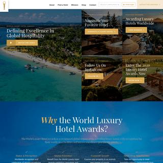 Front Page - World Luxury Hotel Awards
