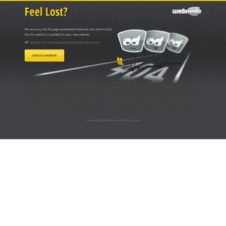 Webnode Error Page