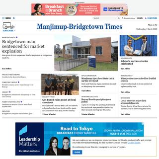 Manjimup Bridgetown Times