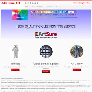 Welcome - JAK Fine Art
