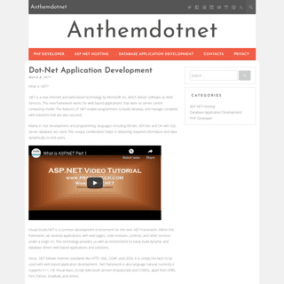 Anthemdotnet -