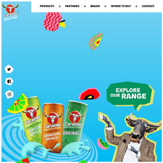 The Low Calorie Fruity Energy Drink – Carabao.co.uk