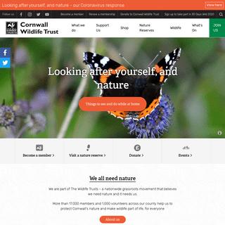 Cornwall Wildlife Trust - Cornwall Wildlife Trust