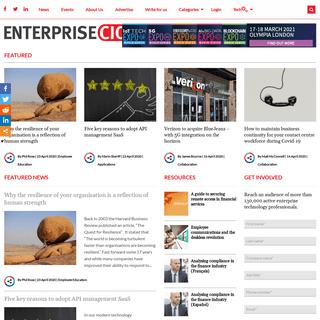 Enterprise CIO News - Digital Transformation, Enterprise Mobility