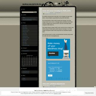 Nurulhaj19's Blog - Just another WordPress.com weblog