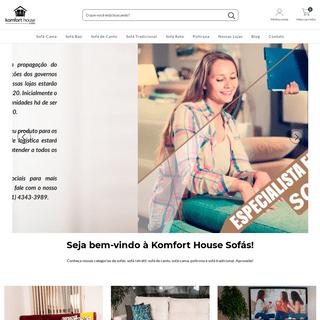Loja online de Komfort House