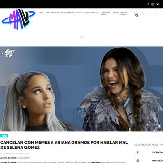 Cancelan con memes a Ariana Grande por hablar mal de Selena Gomez