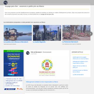 Ville de Marrakech - Voyage au Maroc - Vacances sur mesure pas cher
