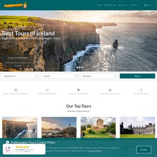 ArchiveBay.com - paddywagontours.com - Day Tours of Ireland - Paddywagon Tours
