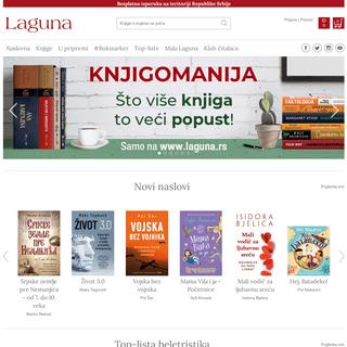Laguna - Knjige o kojima se priča