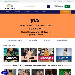 ArchiveBay.com - joshindia.com - India's Best Shopping website - Best Online store in India -Joshindia