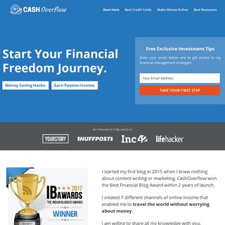 CashOverflow Home - CashOverflow