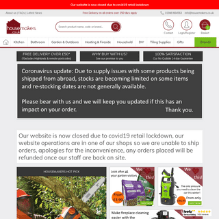 Housemakers UK - Quality Brands for the Home and Garden