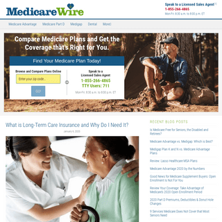 Shop and compare Medicare plans nationwide at MedicareWire!