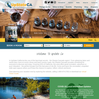 Visit Upstate CA- Your Far Northern California Recreation Connection