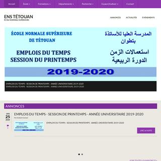 ENS Tétouan - École Normale Supérieure