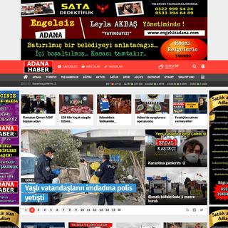 ADANA HABER.NET - Adana'nın En Popüler Haber Sitesi