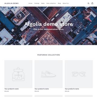 Algolia Search Demo – Algolia Demo