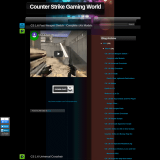 ArchiveBay.com - cs-lowping.blogspot.com - Counter Strike Gaming World
