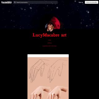 LucyMacabre art