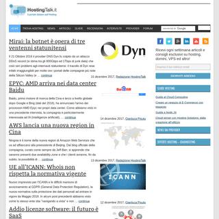 Domini - VPS - Cloud - Configurazione server dedicati - Hosting Talk