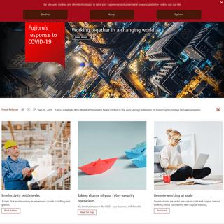 Fujitsu Global - Fujitsu Global IT services and solutions