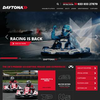 Karting at Daytona – the UK's Premier Karting Tracks - Karting at Daytona