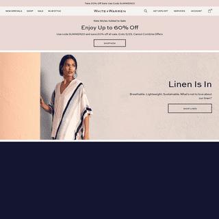 ArchiveBay.com - whiteandwarren.com - White + Warren - Luxurious Women's Clothing - Knitwear