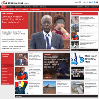Home - Club of Mozambique