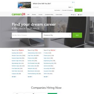 Careers24 - Find & Apply For Jobs & Vacancies Online