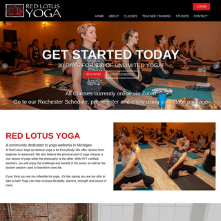Home - Red Lotus Yoga - Rochester Hills, MI, 48307