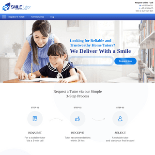 SmileTutor- #1 Trusted Home Tuition Agency in Singapore