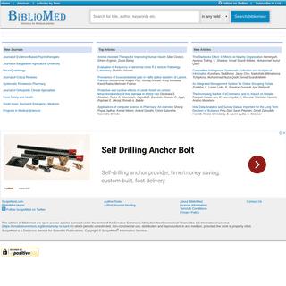 BiblioMed.org - Deposit for Medical Articles