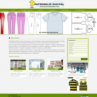 PATRONAJE DIGITAL - Escuela corte y confeccion textil computarizada lima, curso de modaris peru, cursos de optitex lima, cursos
