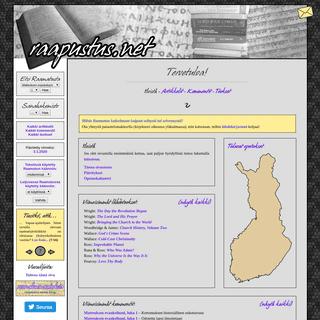 Raapustus.net — Tervetuloa!