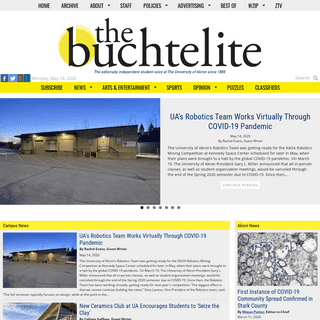 The Buchtelite – The Editorially Independent Voice of The University of Akron