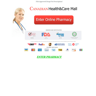 Canadian Pharmacy Online - Best Prices For All Medications