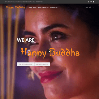 Happy Buddha Website and Shop – We sell Aromatherapy, Soaps, Candles, Incense, Chakra products and collectables including Budd
