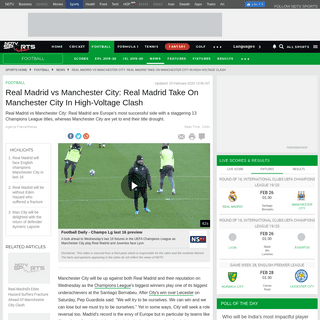 ArchiveBay.com - sports.ndtv.com/football/champions-league-real-madrid-vs-manchester-city-real-madrid-take-on-manchester-city-in-high-voltage-2185359 - Champions League, Real Madrid vs Manchester City- Real Madrid Take On Manchester City In High-Voltage Clash - Football News