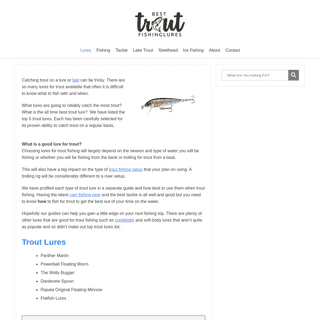 Best Trout Lure – The Ultimate Guide to Trout Fishing - Best Trout Lures